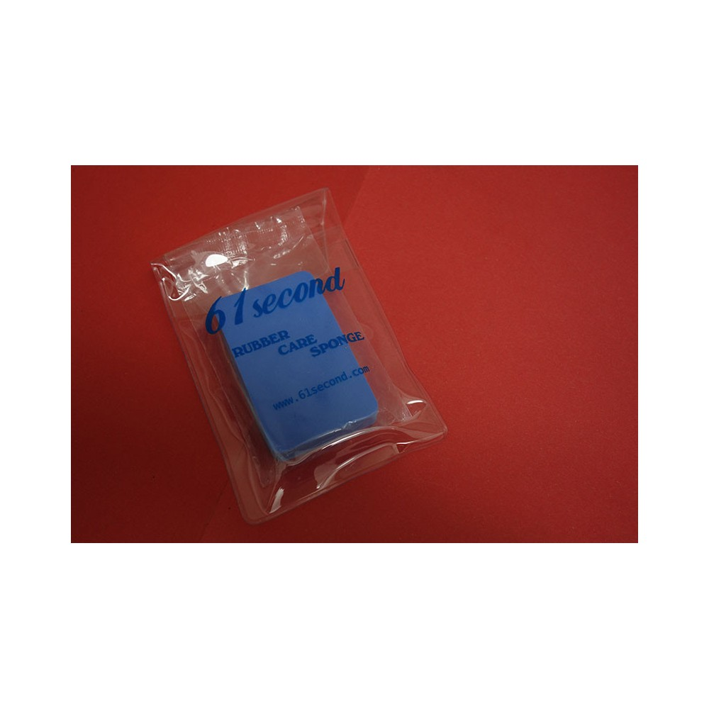 Sponge for rubber cleaning