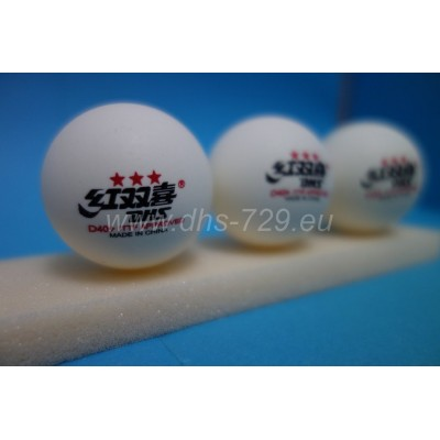 Table tennis balls DHS D40+ 3 star