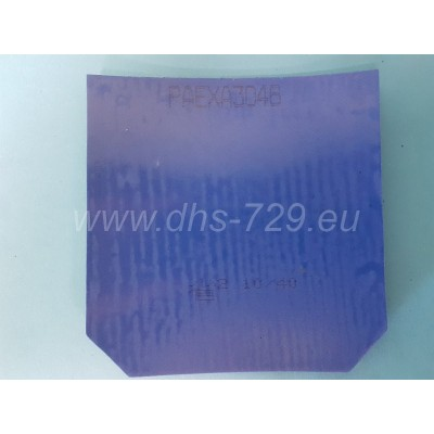 Provincial rubber DHS NEO hurricane 3 - blue sponge - hardness 40, thickness 2,1 mm