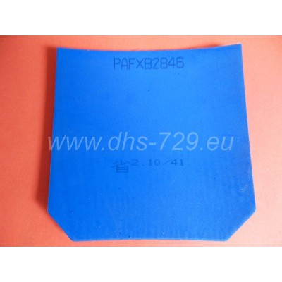 Provincial rubber DHS NEO hurricane 3 - blue sponge - hardness 41, thickness 2,1 mm