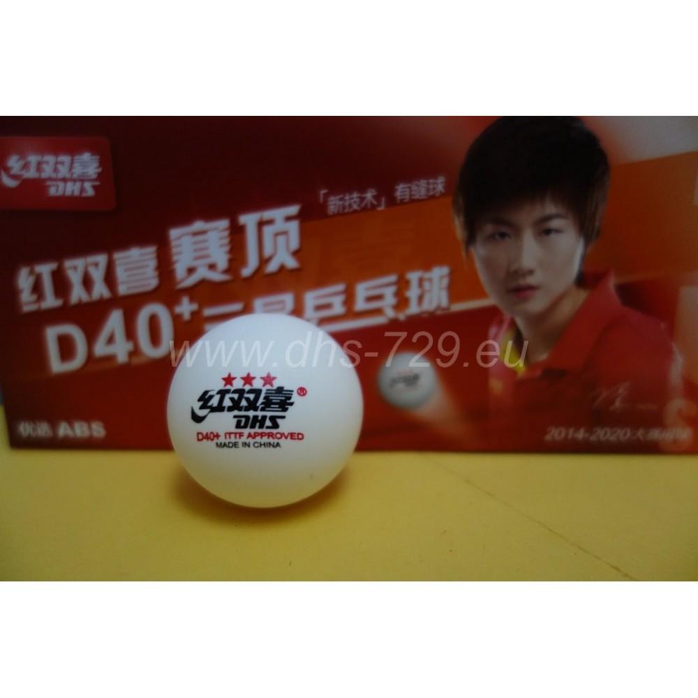 DHS D40+ 3 star - table tennis balls