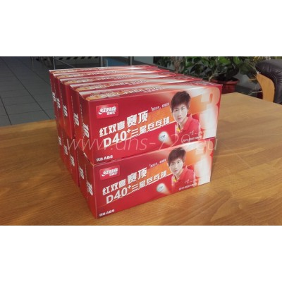 100 pcs DHS D40+ 3 star *** - table tennis balls