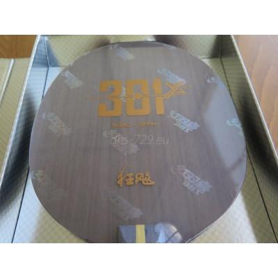 Dřevo DHS Hurricane 301X (H301X) - arylate karbon 5+2AC