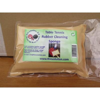 Rubber cleaning sponge